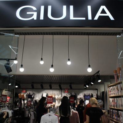 Ювілей в Києві: мережа Giulia відкрила свій 75-й магазин в ТЦ Piramida (фотоогляд)