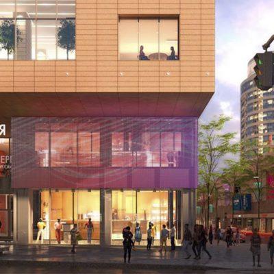 На місці ТЦ Кубометр в Дніпрі будують торгово-діловий центр Перехрестя (презентація проекту)