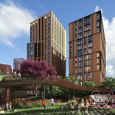 Alef Estate построит в Днепре многофункциональный Ermolaev Center