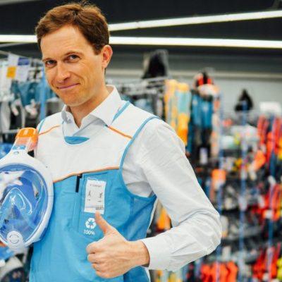 Флоран Гійє, Decathlon Ukraine: Відкриємо shop-in-shop в гіпермаркетах Ашан і невеликі магазини в ТРЦ