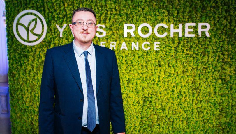 Евгений Лиходед, Yves Rocher: Будем делать реконцепцию всех бутиков