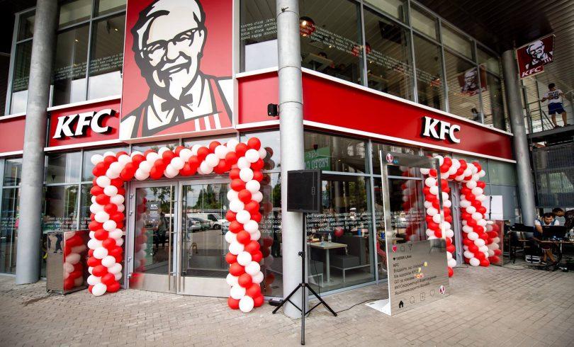 Как выглядит новый ресторан KFC в ТРЦ Магелан (фото)