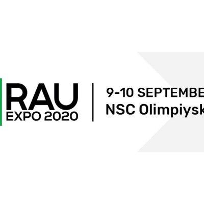 RAU Expo та RAU Awards 9-10 вересня в НСК Олімпійський