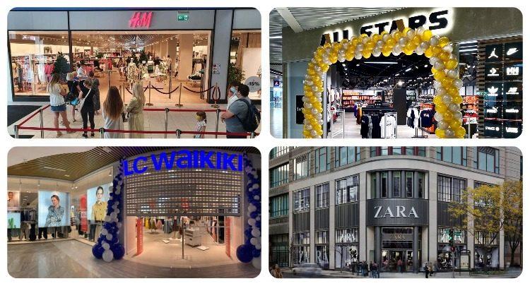 Fashion-рітейл після карантину: найбільший H&M, розширення LC Waikiki та перший аутлет All Stars