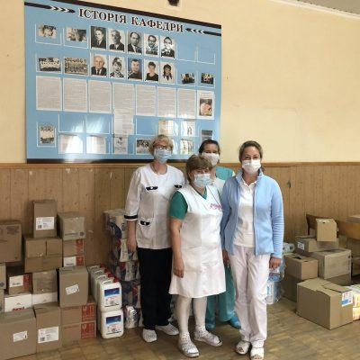 Компанія Watsons виділила майже 100 000 гривень на допомогу лікарям