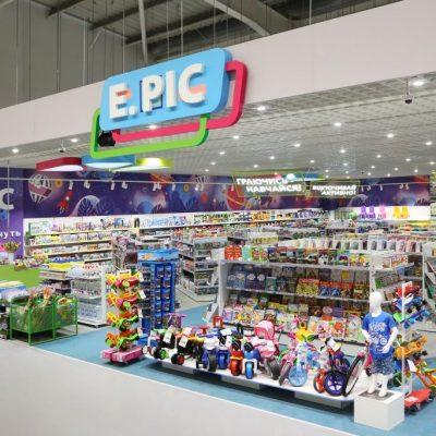 Епіцентр змінює формат магазинів дитячих товарів та одягу Епік (+фото)