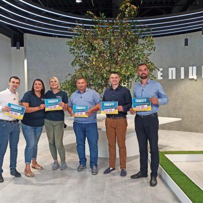 Українські підприємці отримали перші гранти від компанії Епіцентр