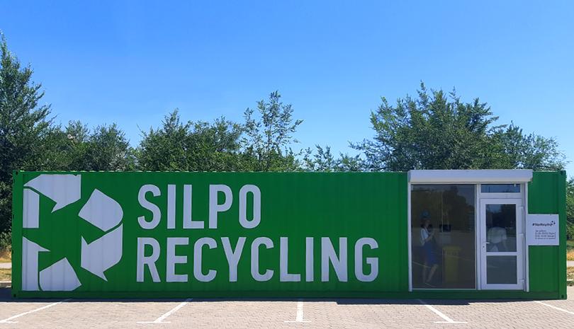 Сільпо розширює мережу #SilpoRecycling і тестує вивезення сміття кур'єром