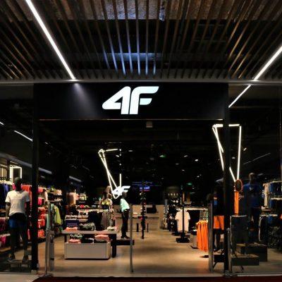Польський спортивний бренд 4F виходить на ринок України