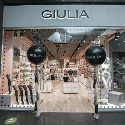 Мережа Giulia відкрила магазин у новому форматі й запланувала запуск ще 10 точок до кінця року (+фото)