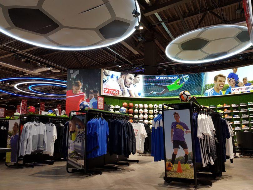 Конверсія магазину Intersport в новій концепції в Лавині – найвища в мережі