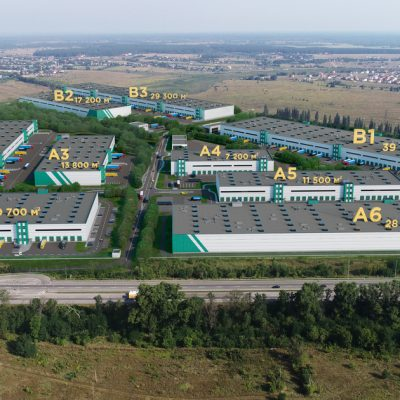 Dragon Capital Building E40 Industrial Park Near Kyiv