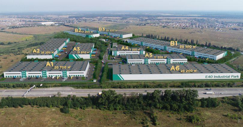 Dragon Capital Building E40 Industrial Park Near Kyiv