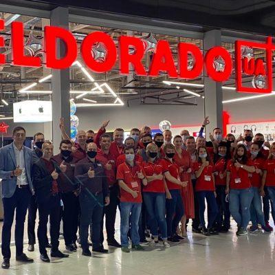 Супермаркет техніки та електроніки Eldorado в новому форматі відкрився в столичному ТРЦ Lavina Mall