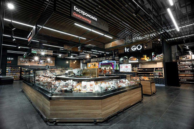 Новий формат FMCG: як виглядає продуктовий супермаркет ТЦ Епіцентр у Вінниці