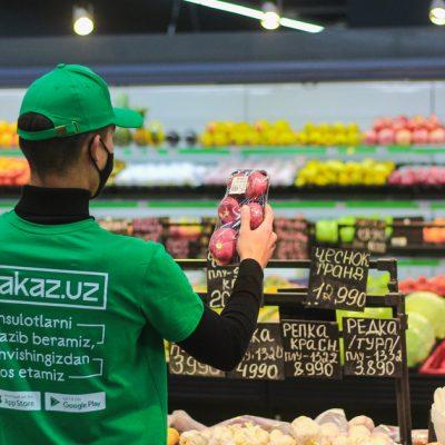 Украинский сервис доставки продуктов Zakaz начал работу в Узбекистане