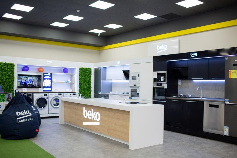 Відкрилася перша в Україні масштабна бренд-зона beko у форматі shop-in-shop