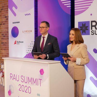 RAU Summit 2020: рітейл-шоу у прямому ефірі – перші фото та тези