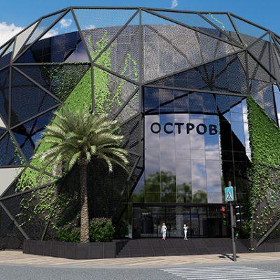В Одессе откроется вторая очередь ТРЦ Остров с магазинами Сільпо, LC Waikiki и Sportmaster