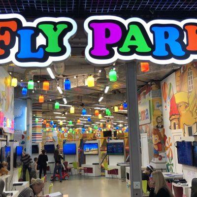 У столичному ТРЦ Dream Town відкрився інноваційний дитячий центр Fly Park, і будується один з найбільших скеледромів Європи