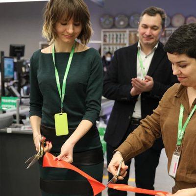 Четвертий: Novus відкрив новий супермаркет в рамках реформату Billa (фотоогляд)