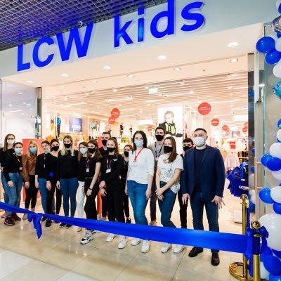 Турецький рітейлер LC Waikiki відкрив перший в Україні монобрендовий магазин LCW kids (+фотоогляд)
