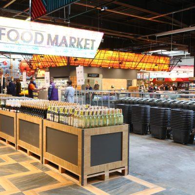 Епіцентр відкрив інноваційний Food Market з власним фуд-кортом (фотоогляд)