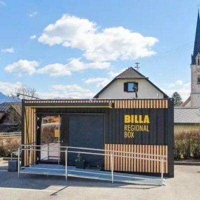 Після виходу з України: Billa відкриває в Австрії магазини-контейнери самообслуговування
