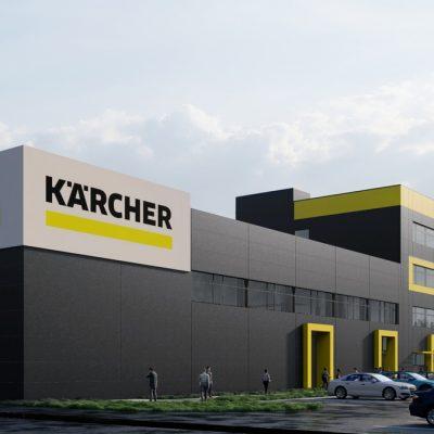 Kaercher інвестує в будівництво офісного комплексу Kaercher Competence Center