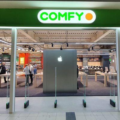 Comfy відкрив найбільший Apple shop в Україні (фотоогляд)